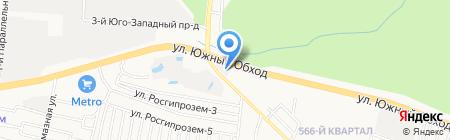 Производственно-торговая компания на карте Ставрополя