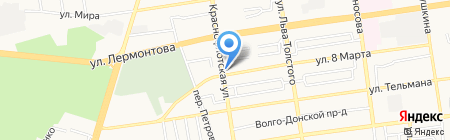АвтоКом на карте Ставрополя