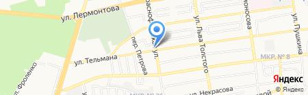 Юг-Реклама на карте Ставрополя