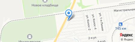 Мрамор-Гранит на карте Ставрополя