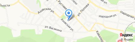 Детский сад №43 на карте Ставрополя