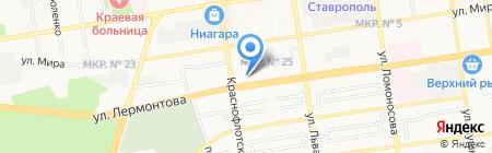 КОММЕД на карте Ставрополя