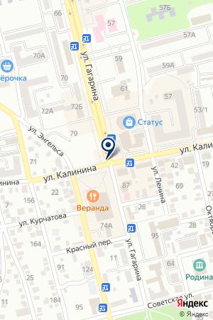 АЗС З на карте Невинномысска