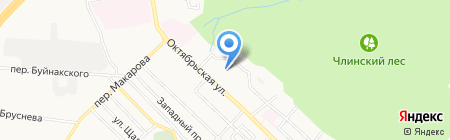 Пузофф на карте Ставрополя