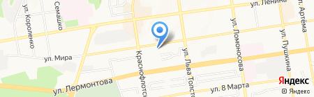 Gala Dali на карте Ставрополя