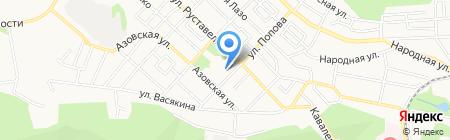Средняя общеобразовательная школа №20 на карте Ставрополя