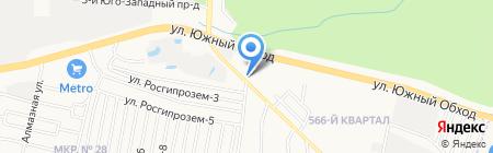 МегаТорг на карте Ставрополя