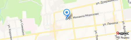 Профи на карте Ставрополя