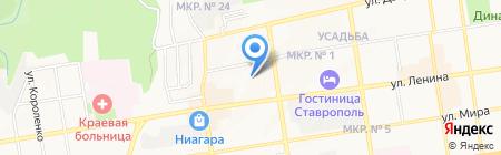 ЮРстатус на карте Ставрополя