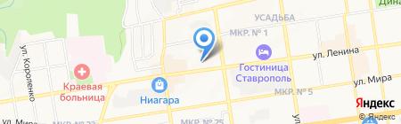 Ёлкин дом на карте Ставрополя