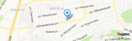 Агросемцентр на карте Ставрополя