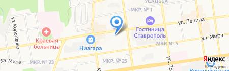 Ставрополь-Эксперт на карте Ставрополя