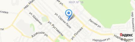 Эридан на карте Ставрополя