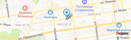 Nailbar на карте Ставрополя