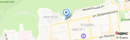 Детская школа искусств г. Ставрополя на карте Ставрополя