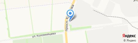 НБО на карте Ставрополя