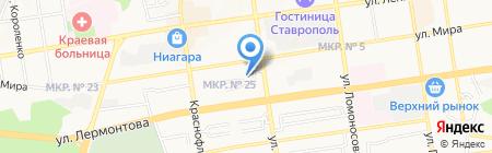 Медтехника на карте Ставрополя