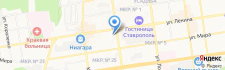 Адвокат Жуков Е.В. на карте Ставрополя