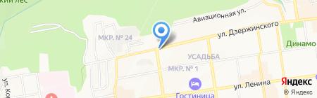 Киоск по продаже фруктов и овощей на карте Ставрополя