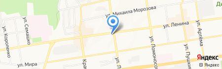 Салон штор на карте Ставрополя