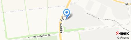 Анвигас на карте Ставрополя