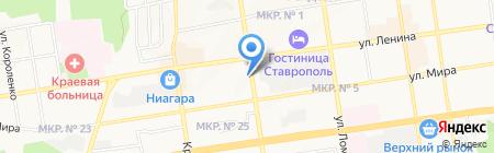 Министерство финансов Ставропольского края на карте Ставрополя