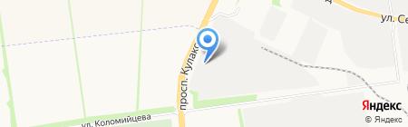 Компания по продаже дров на карте Ставрополя