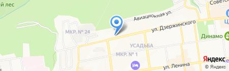 Росгосстрах Банк на карте Ставрополя