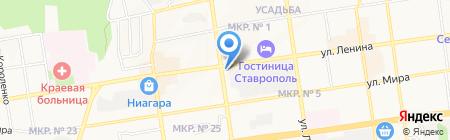 Копейкин Дом на карте Ставрополя