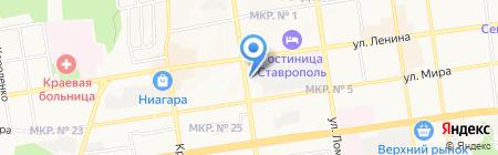 Ставропольнефтегеофизика на карте Ставрополя