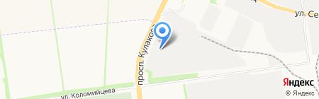 Пласт-Сервис плюс на карте Ставрополя