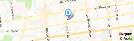 Кнопыч на карте Ставрополя