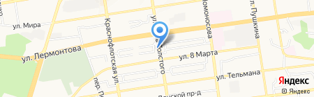 Улей на карте Ставрополя
