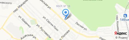 Реквием на карте Ставрополя