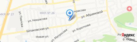 Детский сад №24 на карте Ставрополя