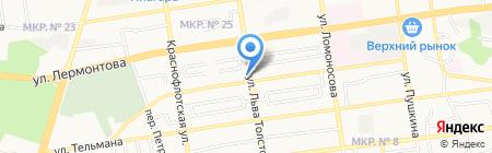 КБ АйМаниБанк на карте Ставрополя