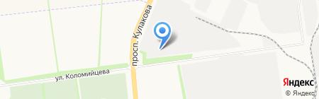 Тротуарная плитка на карте Ставрополя