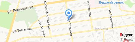 Главная книга на карте Ставрополя