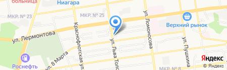 Incognito на карте Ставрополя