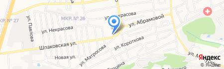 Мастерская по ремонту одежды и обуви на карте Ставрополя