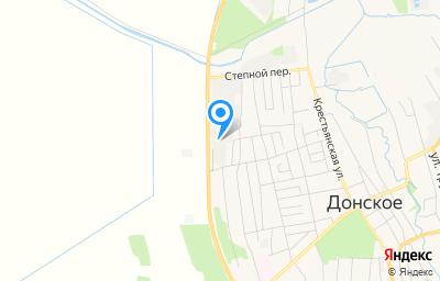 Местоположение на карте пункта техосмотра по адресу Ставропольский край, с Донское, д 600М