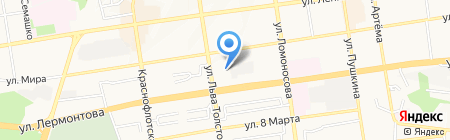 Немецкая стоматологическая клиника на карте Ставрополя