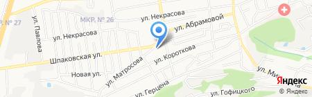 Магазин хозяйственных товаров на карте Ставрополя