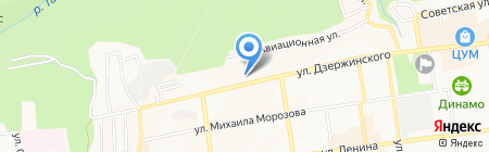 Эталон на карте Ставрополя
