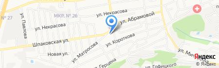 Элеонора на карте Ставрополя