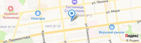 СТОМТОРГ на карте Ставрополя