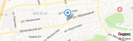 Ставропольская биржа спецтехники на карте Ставрополя