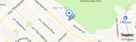 Служба грузоперевозок на карте Ставрополя