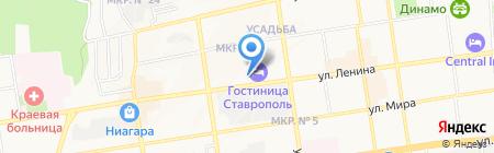 KanZleR на карте Ставрополя