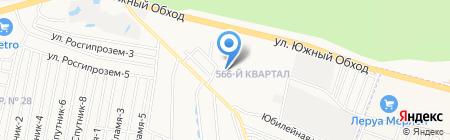 Детский сад №17 на карте Ставрополя
